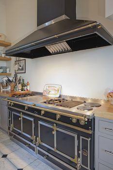 Ovens in modern kitchen