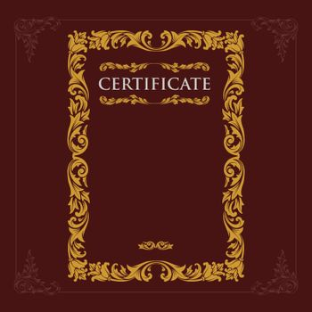 Certificate of appretiation style engraving