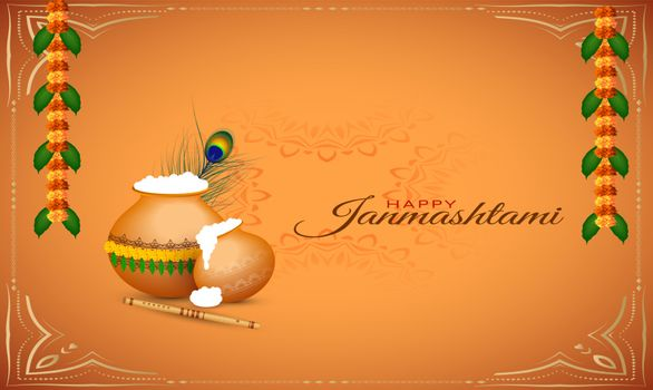 traditional indian festival element on abstract background