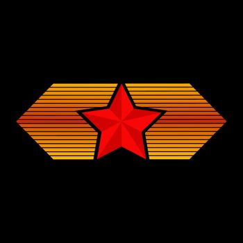 Five-pointed red star
