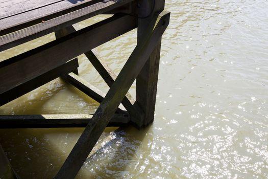 Close up of dock