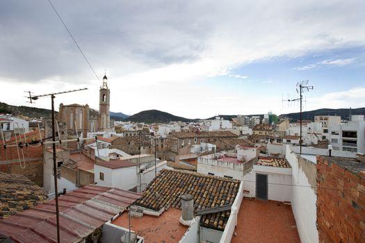 Rooftops of Sagunto, Spain