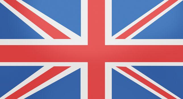 Full-frame shot of British flag