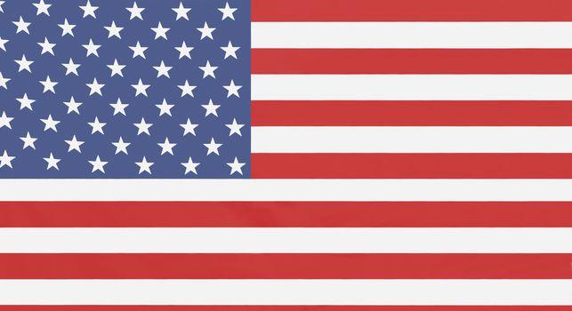 Full-frame shot of American flag