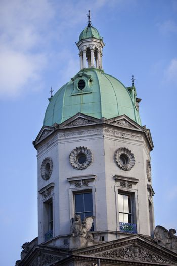 Domed structure against sky