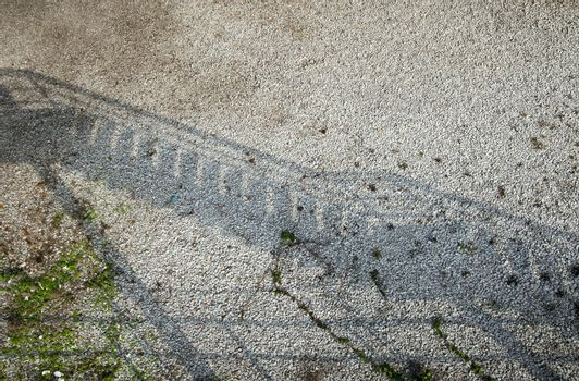 Shadows on road