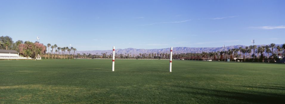 View of Polo field