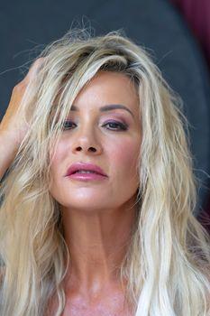 Portrait of an attractive blonde model