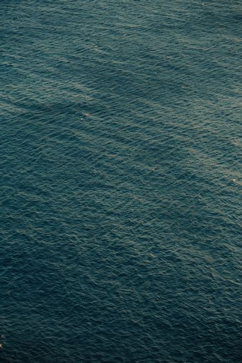 Close up of the sea pattern