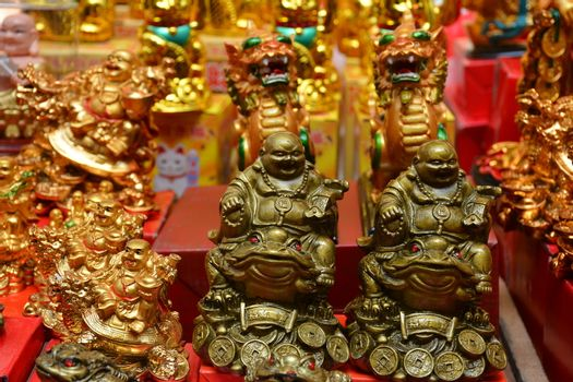 Buddha lucky charm figurine