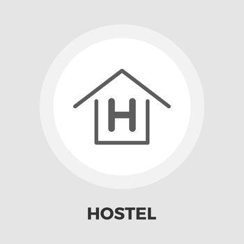 Hostel flat icon