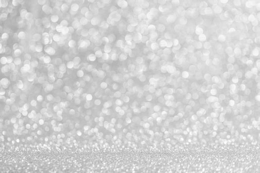 Abstract silver glitter background celebration Christmas New Year luxury design