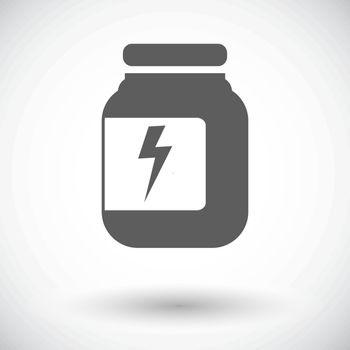Jar flat icon.
