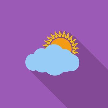 Overcast single icon.