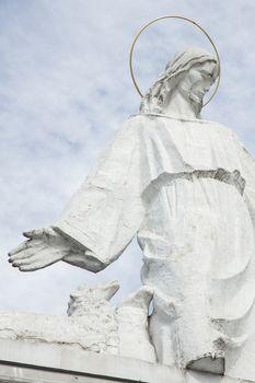 statue of Jesus Christ in Bialystok, Poland