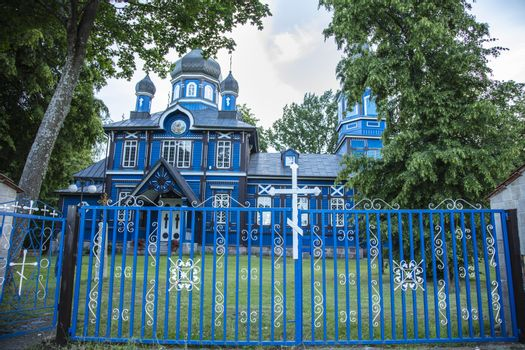 Orthodox Church of the ,,Protection of the Mother of God`` in Puchły, Poland