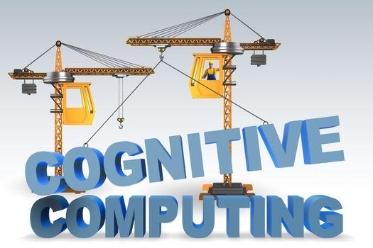Cognitive computing concept - 3d rendering