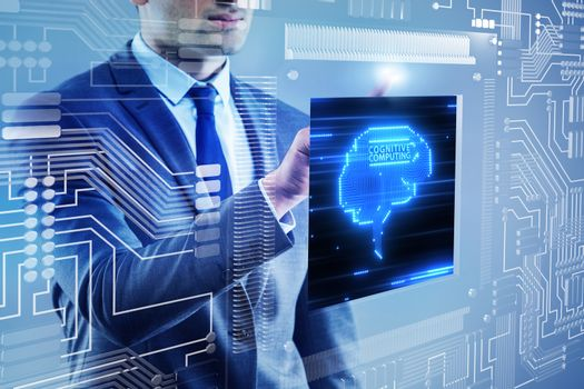Cognitive computing concept as modern technology