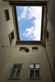 Outer Paulustor building in Graz