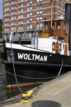 Steam tug Woltman, Hamburg, Germany.