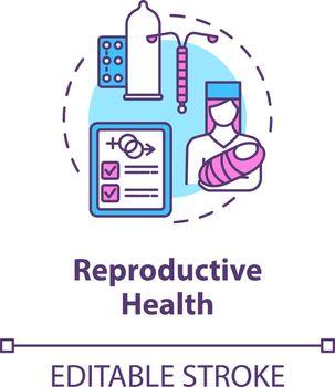 Reproductive health concept icon