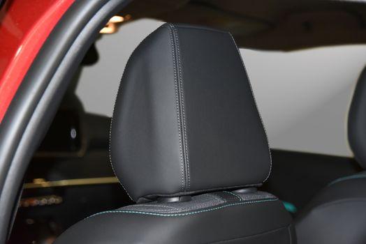 Headrest on a car seat