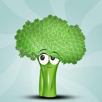 illustration of broccoli