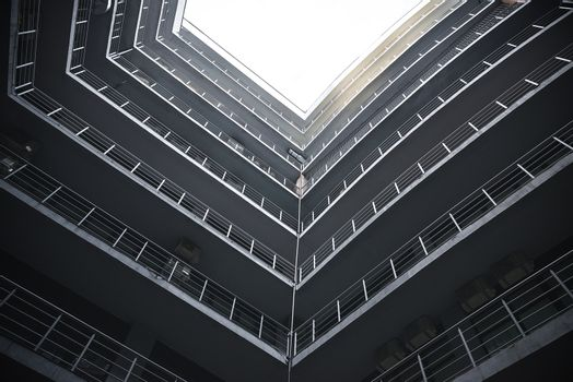 tall building overlooking the sky
