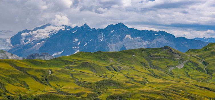The Swiss Alps at Melchsee Frutt - travel photography