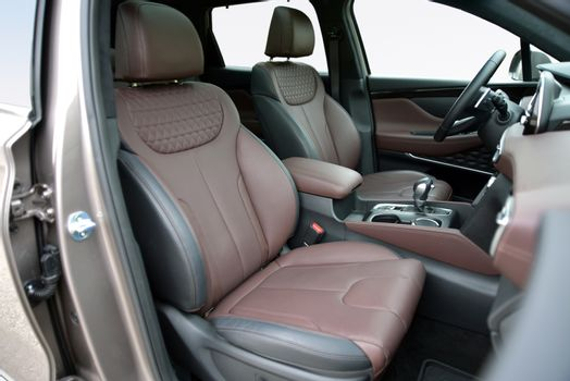 Front seats of a modern SUV