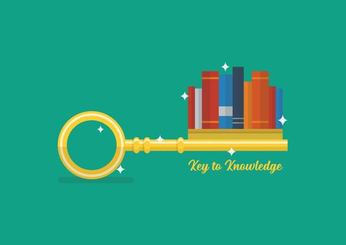 Key to knowledge concept