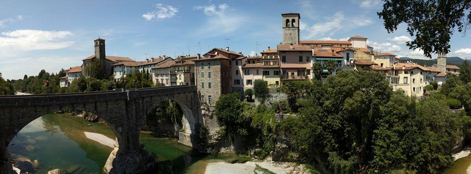 devils bridge in cividale italy