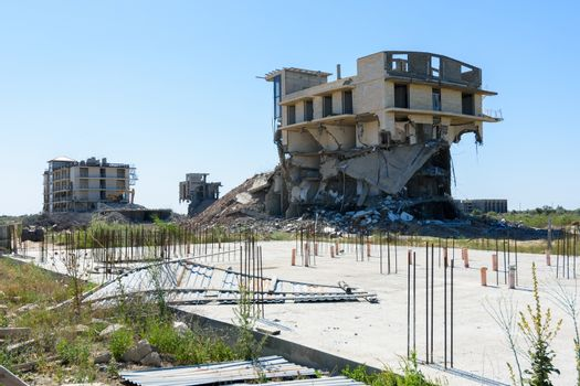 Demolition of illegally constructed capital construction projects