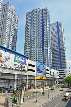 Mezza residences facade in Quezon City, Philippines