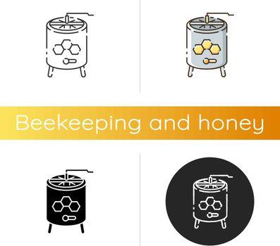 Honey extractor icon