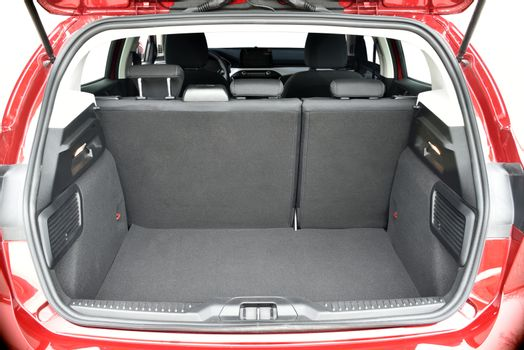 Trunk of the car