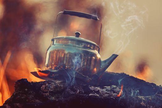 Open Fire Tea