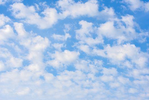 Beauty white cloud and blue sky. Sky with cloud.
