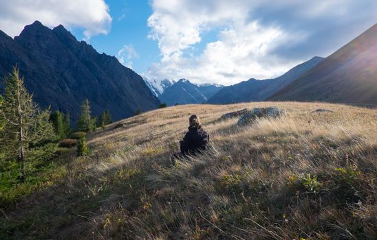 Hard-to-reach places in the Altai Mountains