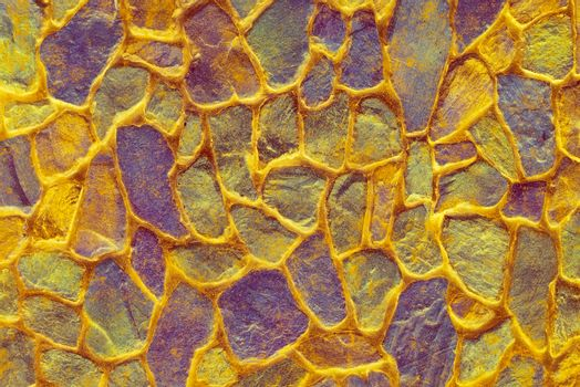 Colored decorative surface. Grunge colorful background. Texture