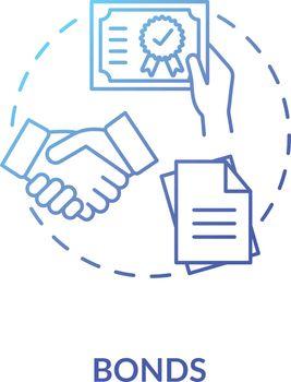 Bonds concept icon