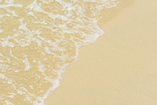 glare on the sea surface