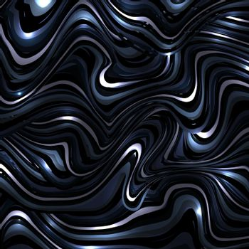 Abstract background dark blue wavy or wavy lines pattern with lighting effect. Vector illustration