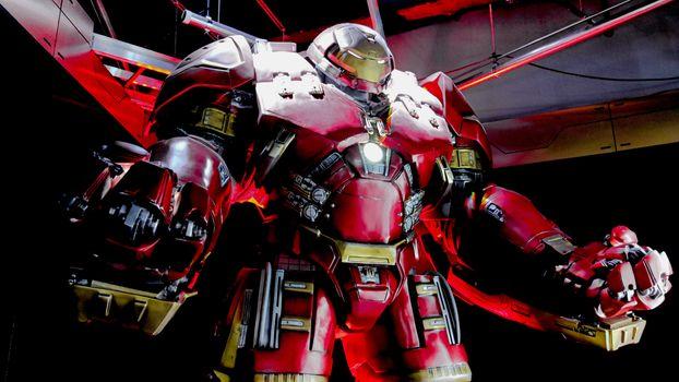 Hulk Buster Iron Man costume