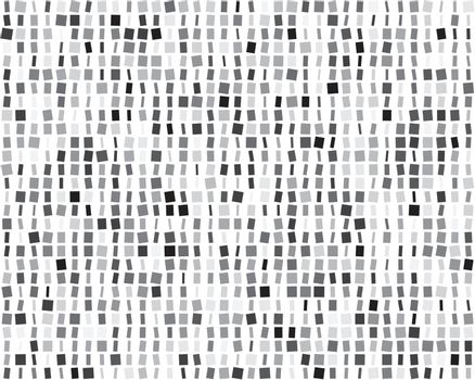 Seamless vector pattern with squares different sizes