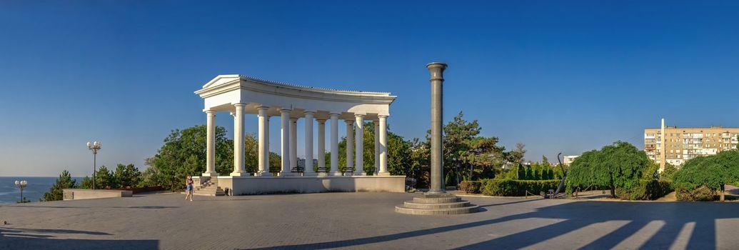 Colonnade in Chernomorsk, Ukraine