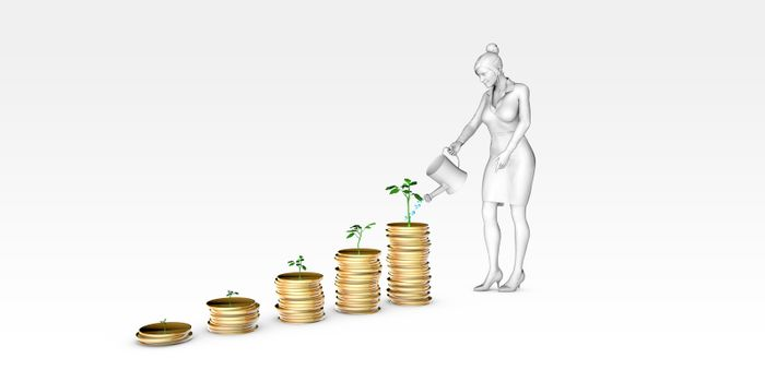 Financial Planning Tips and Information Advice Concept