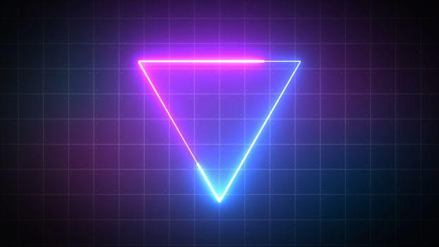 Retro Futuristic triangle