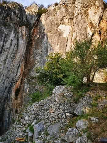 The Aggtelek Karst and the entrance to the cave