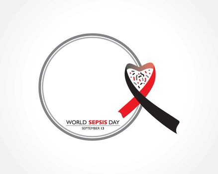 Vector illustration of World Sepsis Day observed on September 13th